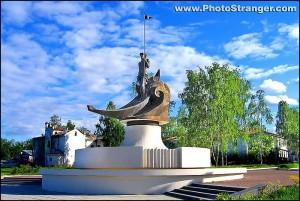 Скульптура «Рождение города»