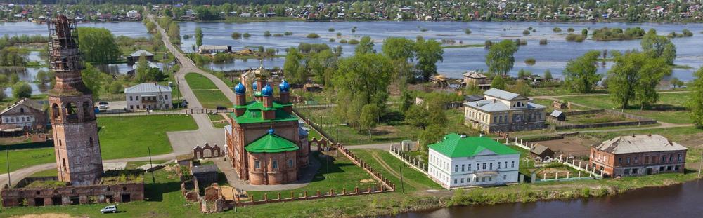 Усолье: имение Строгановых на берегу Камы