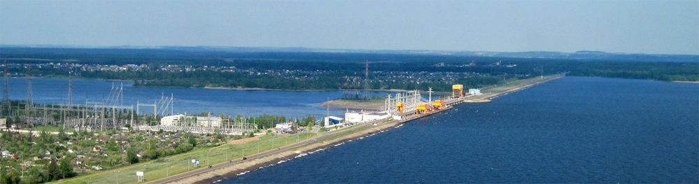 Воткинская ГЭС в Чайковском