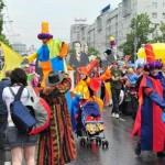 Шествие по улице Ленина