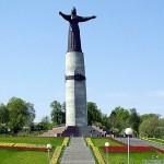 """Памятник """"Добро пожаловать в Шупошкар"""""""