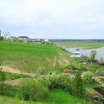 Вид на реку Колва