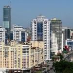 Современный вид Екатеринбурга