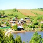 Вид на село Хохловка