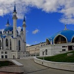 Мечеть Куль Шариф, главный мусульманский храм Казани и Татарстана