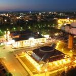 Панорама ночного Ижевска