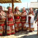 Национальная деревня. Мордовское подворье