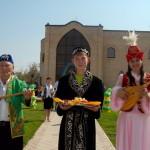 Национальная деревня.Казахское подворье.