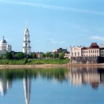 Вид на Рыбинск