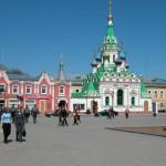 Площадь у Троицского собора