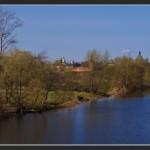 Панорама на реку Каменка