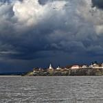 Вид с реки на Свияжск