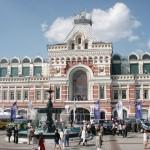 Здание нижегородской ярморки в наши дни
