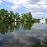 Царское Село: пруд