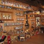 Экспонаты музея водки