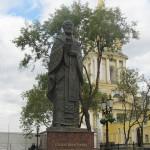 Пермь: памятник Святому Николаю Чудотворцу на Соборной площади