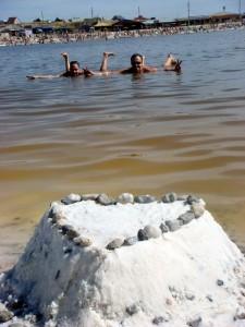 Соль-Илецк: на озере