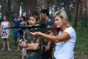 Архангельская слобода - стрельба из винтовок