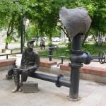 Пермь: памятник водопроводчику
