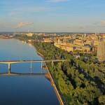 Пермь: набережная Камы