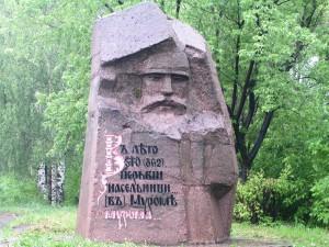 Муром: памятник Илье-Муромцу
