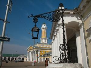 Кострома: пожарная колокольня