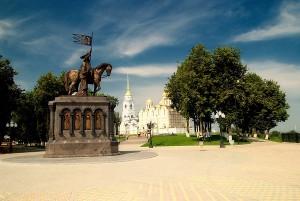 Владимир: памятник князю Владимиру
