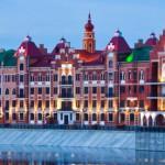 Йошкар-Ола: набережная Брюгге