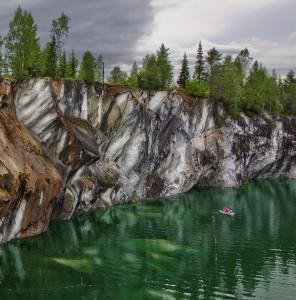 Мраморные каньоны Рускеалы