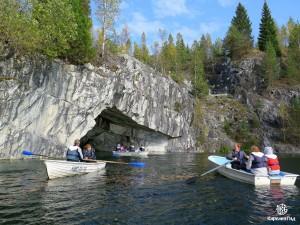 Катание на лодках по каньонам и пещерам