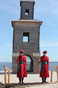 Сторожевая башня  в Тетюшах