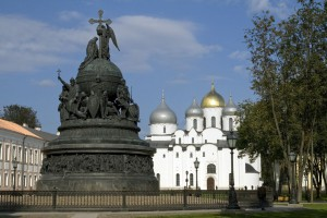 Великий Новгород: памятник 1000-летию Руси