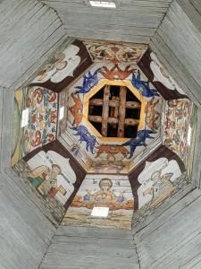 Купол церкви вознесения в Торжке