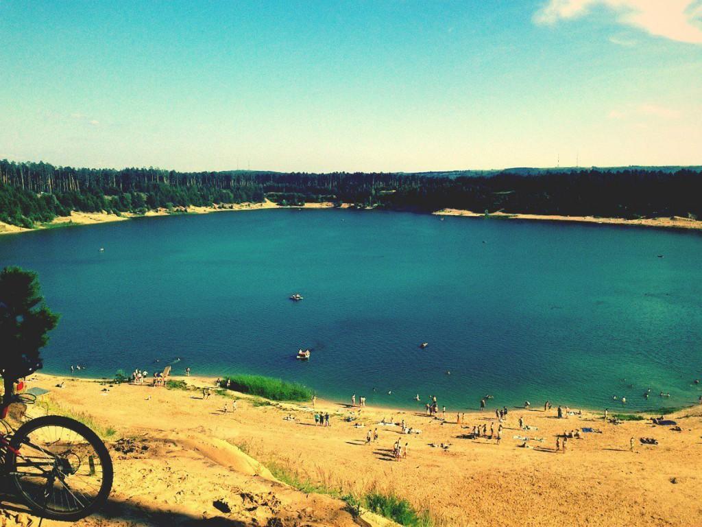 Озеро Глубокое рядом с базой