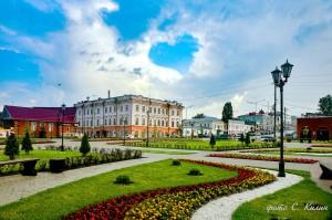 Центральная площадь Сарапула