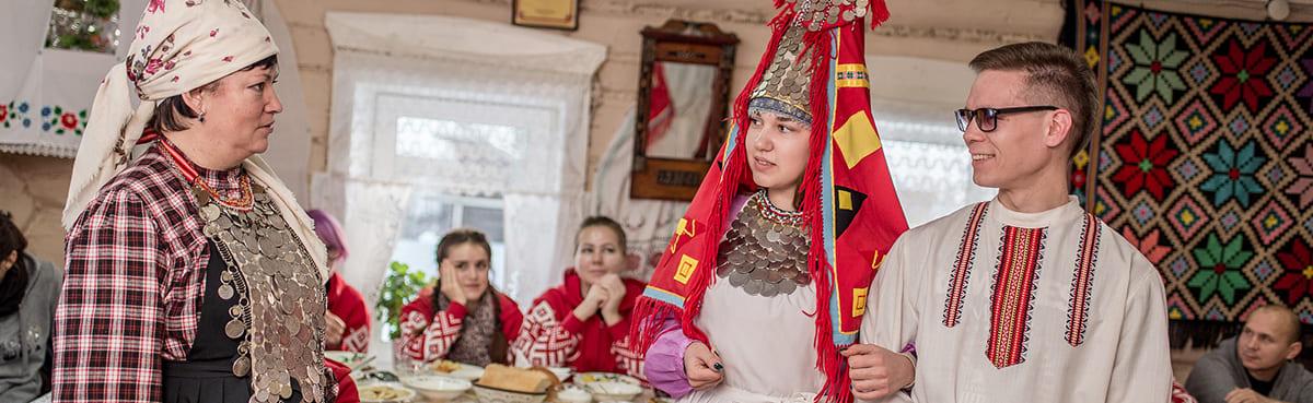 Обряд «Свадьба» в Карамас-Пельге